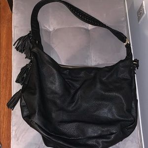 Urban Outfitters Black Leather Bag